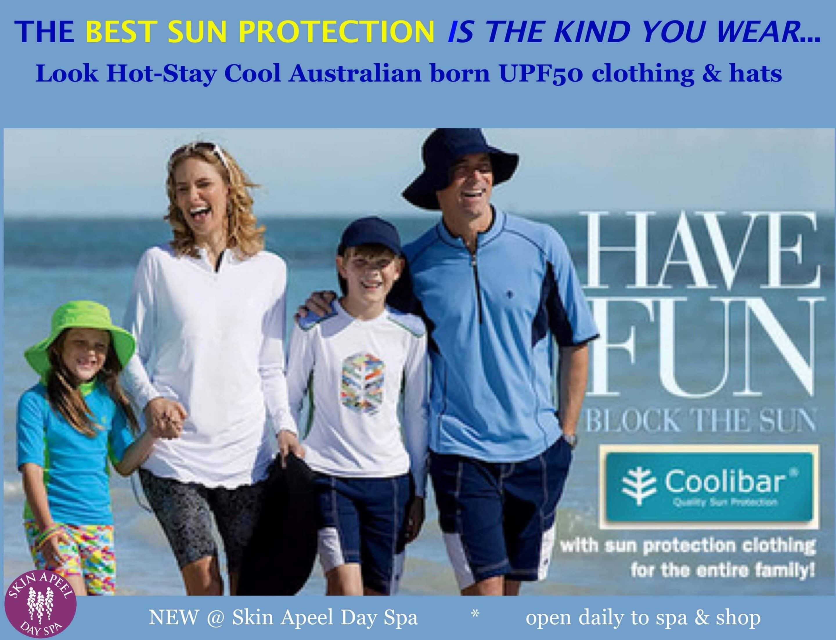 Coolibar UPF Clothing Sizzles at Skin Apeel- Boca Raton, Fl