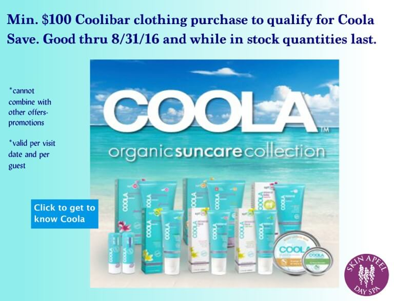 Coola- 8-16 promotion