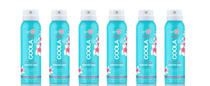 Coola Organic SPF Makeup Setting Sunscreen Spray SPF30 – Now Available At Skin Apeel