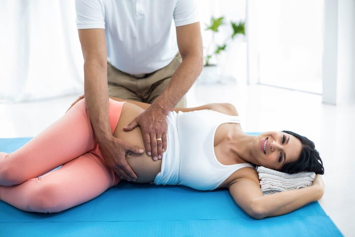 Prenatal Massage couple Warnings