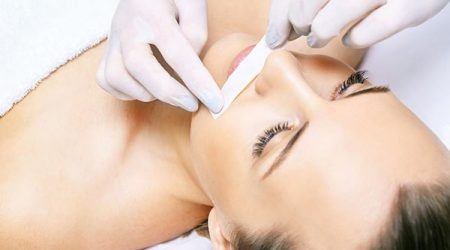Hair removal. Cosmetic procedure. Beauty and health. Bright skin.